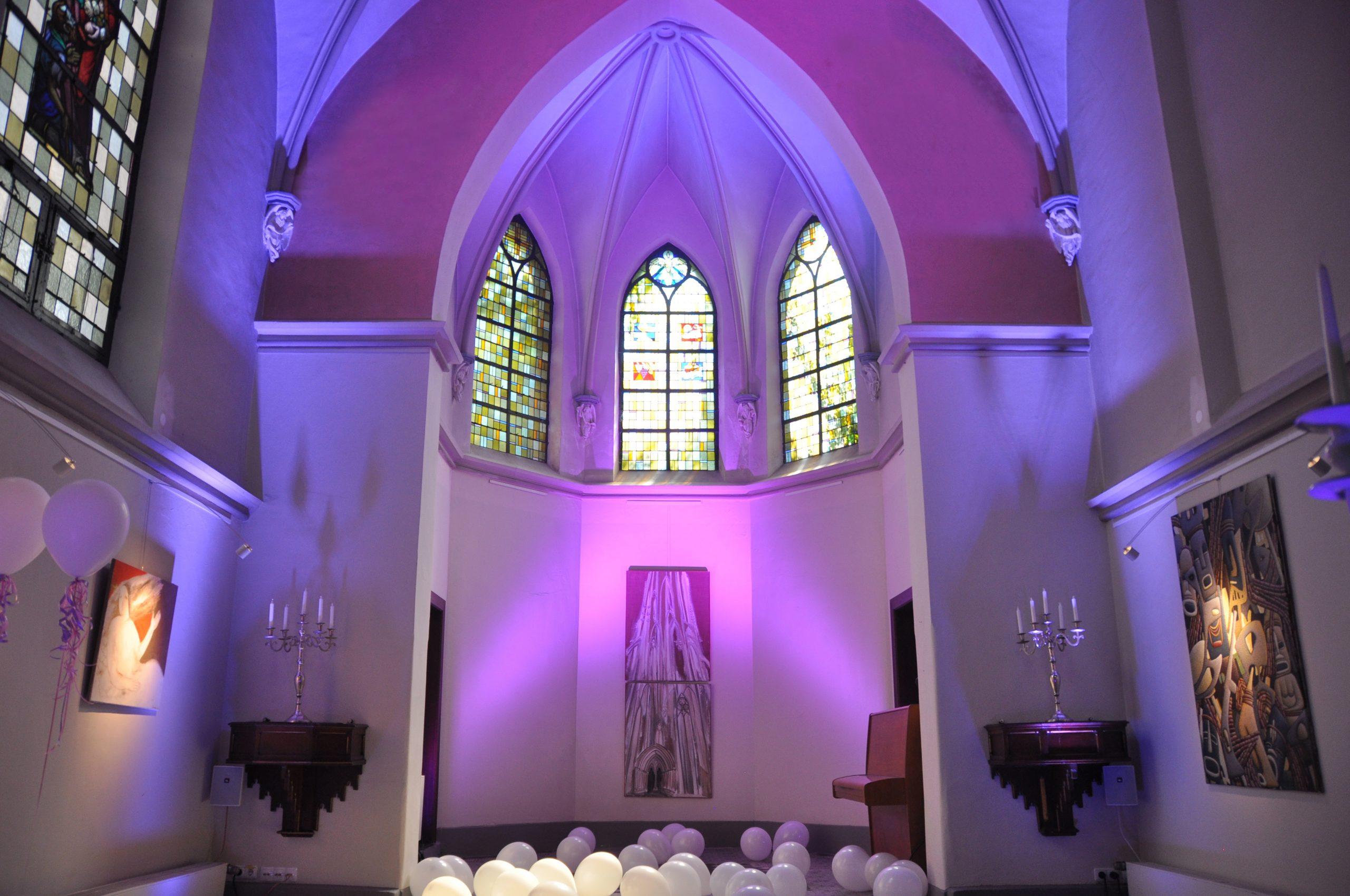 Klosterkapelle Hochzeitsräumlichkeit © www.wingart.de