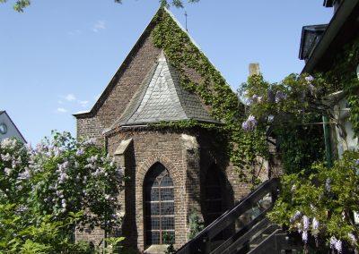 Kirchturm Klosterkapelle Köln am Rhein © www.wingart.de
