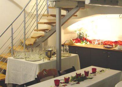 Treppenabgang Galerie Klosterkapelle © www.wingart.de